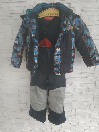 Kurtka zimowa +spodnie narciarskie116