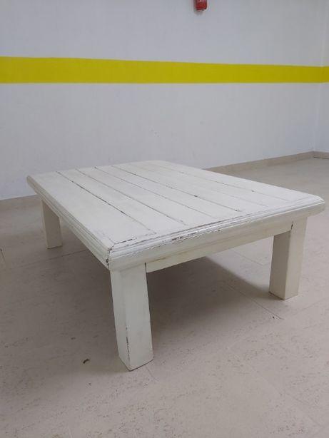 Mesa de centro decape branco