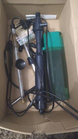 Grzałka 30 wat 50wat filtr akwarium odmulacz do wody baterie prąd 230v