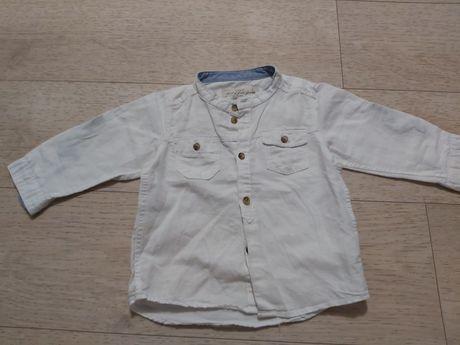 Koszula lniana logg r. 80/86