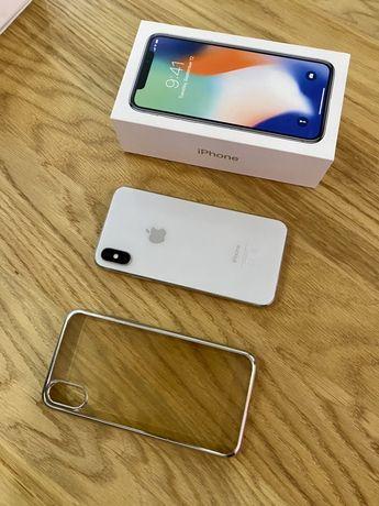 Apple iPhone X / 64 GB / Ideał!