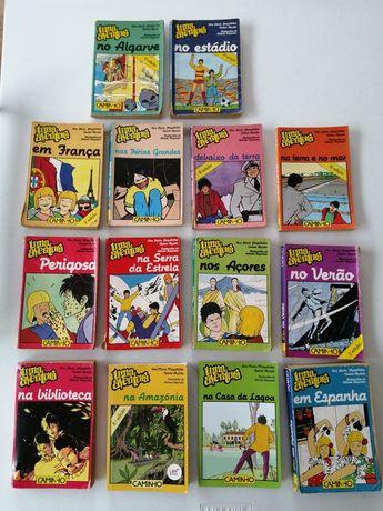 """Livros banda desenhada """"Uma Aventura"""""""