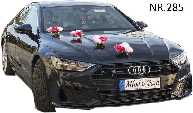 Dekoracja na samochód-ozdoby-stroiki-przybranie auta-dekoracje na auto