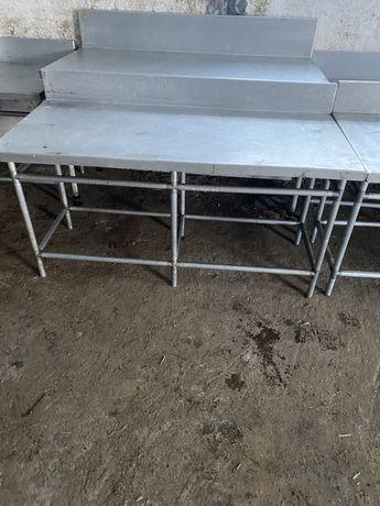 Stół nierdzewny gastronomiczny, rzeźniczy, masarsk