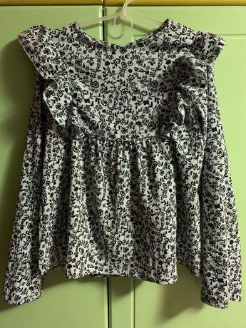 Блузка Zara, на рост 152