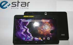 Tablet E-Star c/visor estalado mas a Funcionar