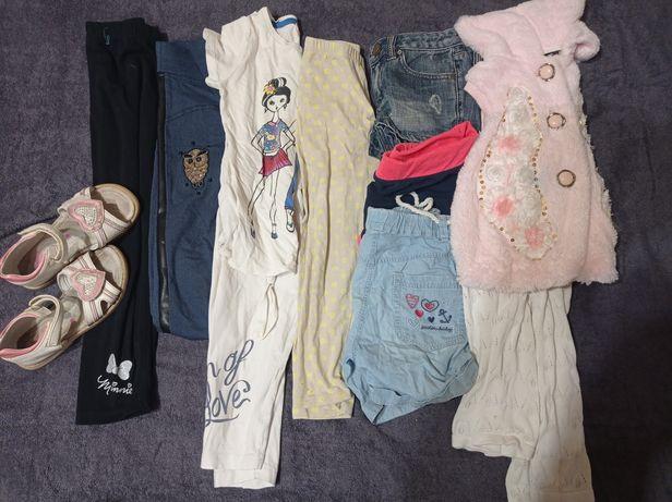 Пакет вещей на девочку 5-6 лет
