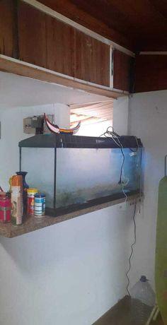 Aquário 120 litros 90cm comprimento
