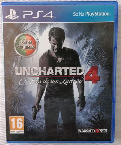 Uncharted™ 4 O Fim de um Ladrão (COMO NOVO)