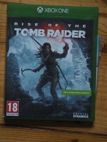 Rise of the Tomb Raider PL xbox one