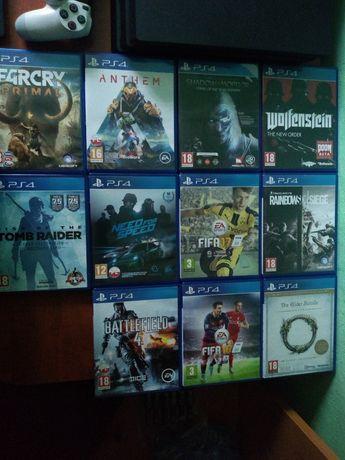 Gry ps4  Tomb raider, FIFA, battlefield, far cry I inne