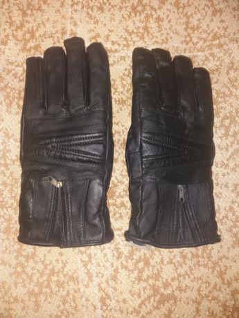 Перчатки мужские, кожа,зима.