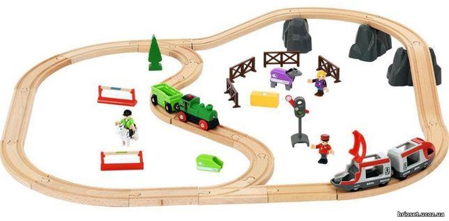 "Brio (Брио) 33434 деревянная железная дорога ""Кантри2"""