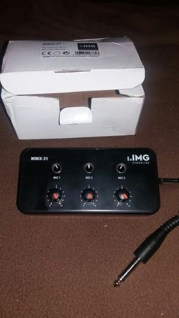 Микрофонный микшерный пульт MMX-31 OMG Stageline