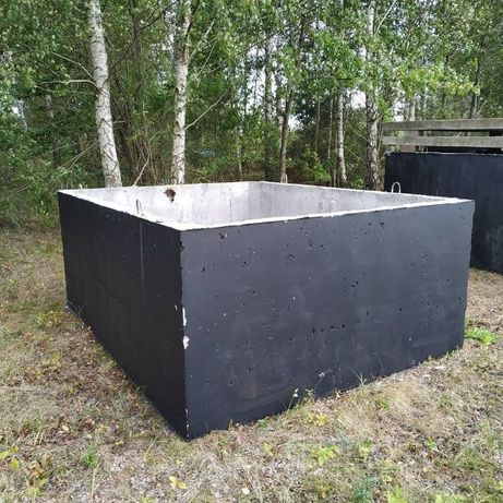 Zbiornik betonowy na gnojowicę deszczówkę szambo szamba betonowe 10m3