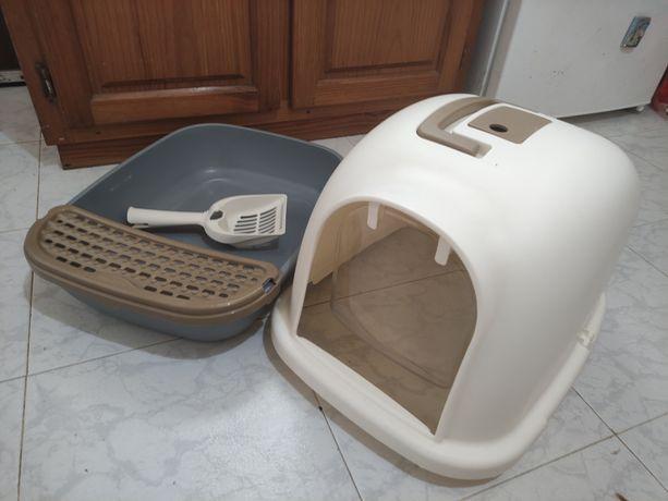 Caixa de areia para gato