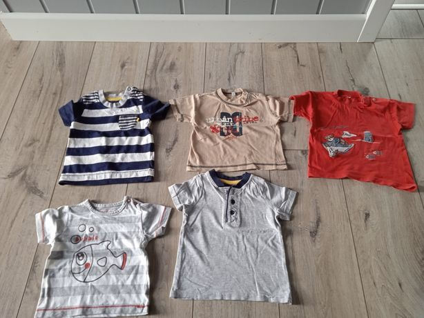 Zestaw bluzeczki bluzki t-shirty