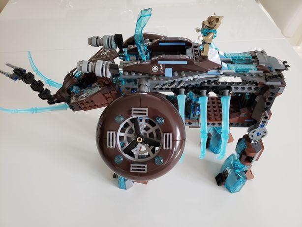 Lego Chima - lodowa machina Maula + gratis szybowiec lodowy