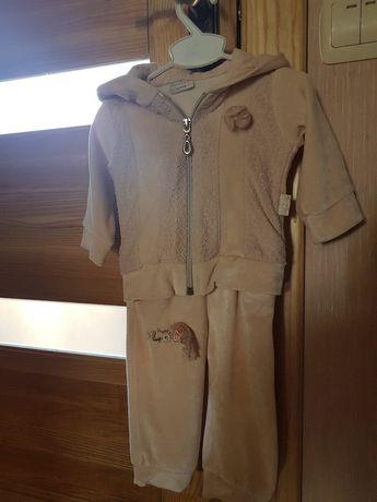 Спортивний костюм на дівчинку 3-9 місяців.