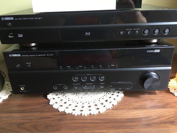 Zestaw kina domowego Yamaha amplituner+odtwarzacz dvd