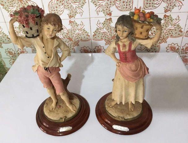 Vendo bonecos loiça vintage