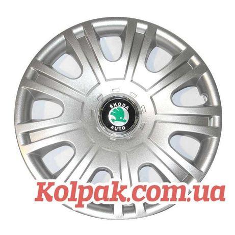 КОЛПАКИ КОВПАКИ на колеса диски Шкоду Skoda R14 R15 R16 под оригинал