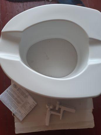 Туалетне сидіння високе 15см