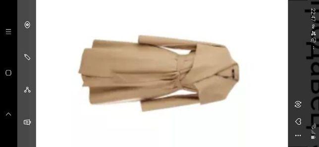 Пальто без подкладки,кардиган из ткани, тренч, новое р-р М ТМ JAZZEVAR