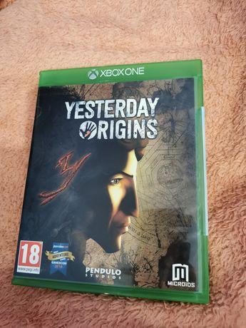 Yesterday Origins Xbox One Xbox Series X gra jak nowa