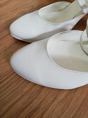 Sprzedam buty białe ślubne marki Witt, rozm. 38.