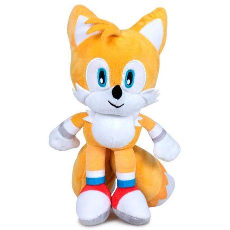 Novidade : Peluche Tails Sonic 30cm