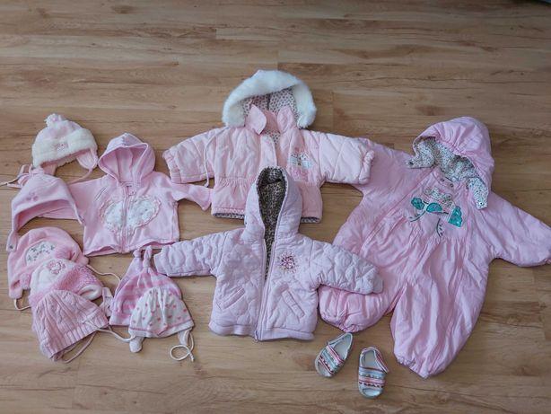 zestaw paka ubrań dla dziewczynki rozm 3-6 miesięcy
