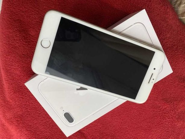 айфон 8 плюс + iphone 8 plus  белый white СРОЧНО!! В ИДЕАЛЕ