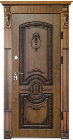 Двери входные Полимерной , МДФ накладками або з фанери уличные в дом