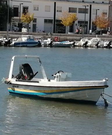 Barco 4,10m motor 25cv