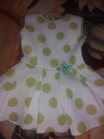Дитяче плаття на дівчинку.