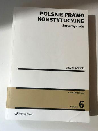 Książka- Prawo Konstytucyjne Zarys wykładu, L.Garlicki