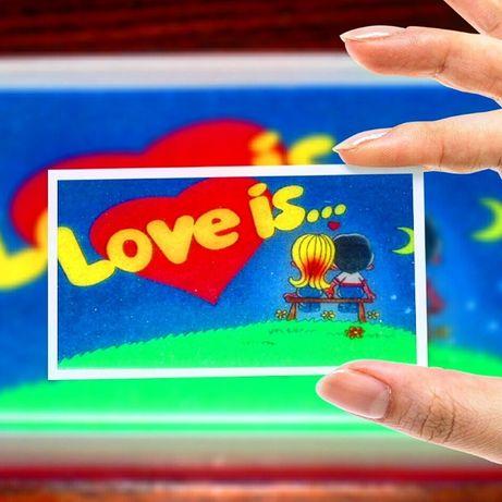 Мыло ручной работы Лав Ис: приятный сюрприз подарок любимой (любимому)