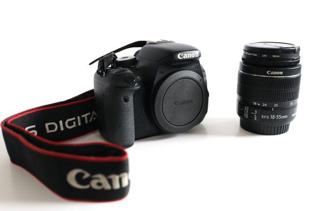 Sprzedam Aparat Lustrzanka Canon 600D + obiektyw 18-55