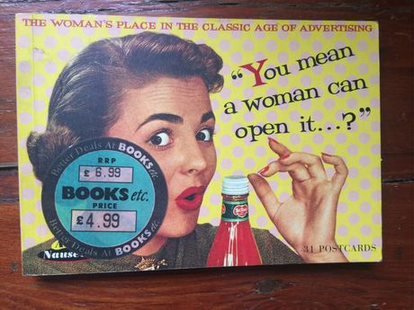 You mean woman can open it?