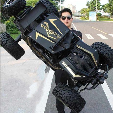 Carro telecomandado GIGANTE 1:8 50cm Buggy Jipe TT 4X4 LED NOVO