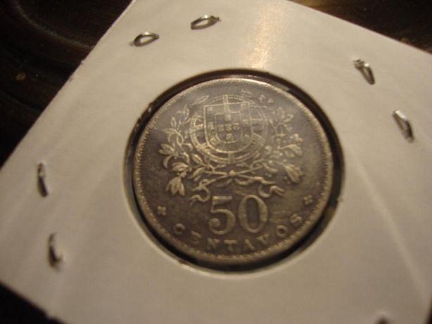 Moeda 50 Centavos ALPACA 1927