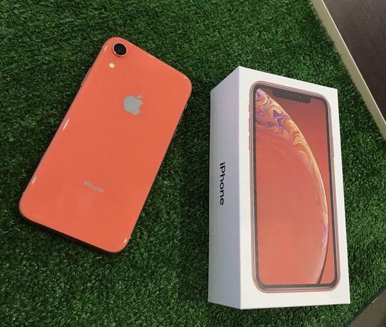 Магазин iPhone XR 64 coral Neverlock гарантия 6 месяцев