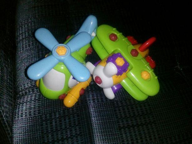 Самолет детский игрушечный build&play