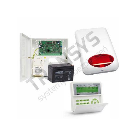 Alarm Satel Integra 32 zestaw alarmowy do 10 czujników