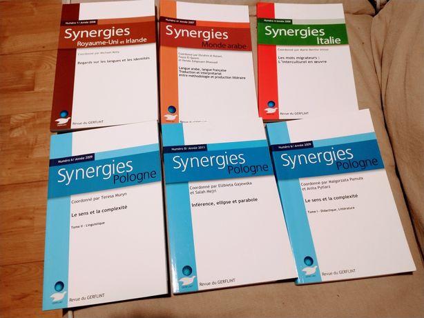 Książki różne, naukowe i w j. francuskim