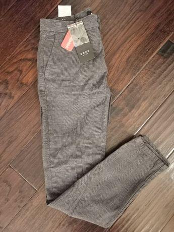 Spodnie męskie materiałowe NEW YORKER r. 36/S