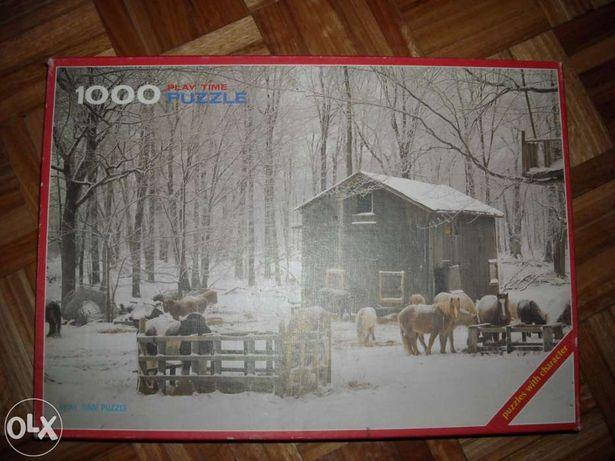 Vendo Puzzle de 1000 Peças 44x68 CM