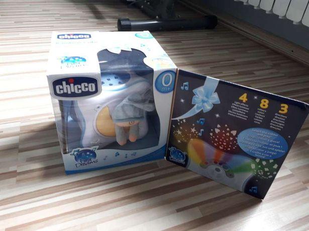 Chicco Lampka Projektor Tęczowa Kostka