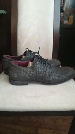 Pantofle męskie skórzane wezowe r 44 Neosens